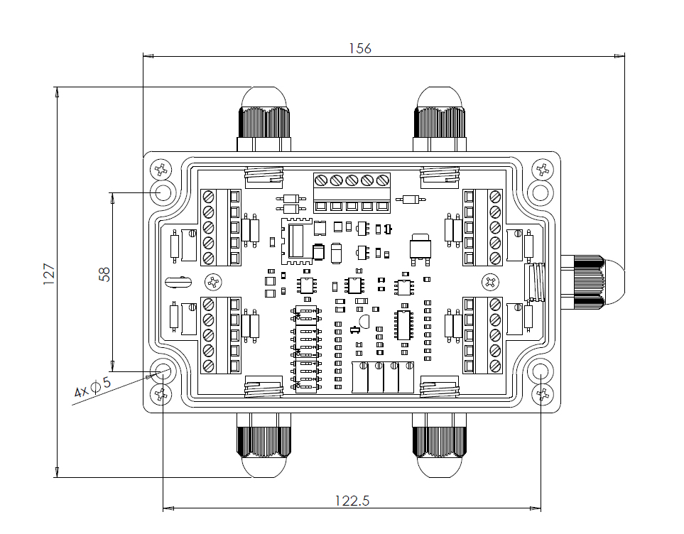 四路求和称重接线盒安装尺寸图.jpg